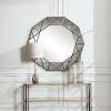 This item: Manarola Black 48-Inch Decagon Shaped Mirror