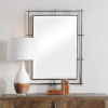 This item: Ironworks Silver 39-Inch Industrial Mirror