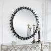 This item: Cyra Black Round Mirror