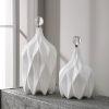 This item: Klara Glossy White Bottles, Set of 2