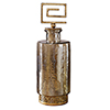 This item: Neev Brown and Gold Decorative Jar