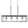 This item: Pearsall Iron 4-Light Kitchen Island Chandelier
