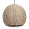 This item: Seagrass Antique Brass One-Light Pendant