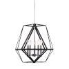 This item: Sagard Black 5-Light Pendant