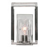 This item: Newburgh Polished Nickel One-Light Wall Sconce