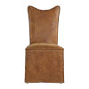 This item: Delroy Cognac Armless Chair, Set of 2