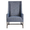 This item: Galiot Blue and White Arm Chair