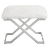This item: Farran Silver 24-Inch Small Bench