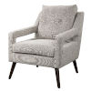 This item: OBrien Gray and Brown Neutral Armchair