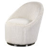 This item: Crue Ivory Swivel Chair
