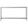 This item: Hayley Antique Silver Leaf Console Table