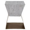 This item: Joplin Gray 20-Inch Square Accent Table