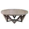 This item: Kendry Wood 48-Inch Round Coffee Table