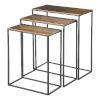 This item: Coreene Aged Black Nesting Table, Set of 3