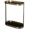 This item: Adia Antique Gold End Table