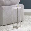 This item: Waldorf White Marble Drink Table
