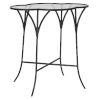 This item: Adhira Aged Black Accent Table