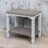 This item: Calypso Gray and White Side Table