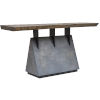 This item: Vessel Gunmetal Console Table