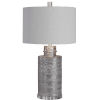 This item: Anitra Metallic Silver 1-Light Table Lamp