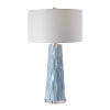 This item: Brienne Light Blue and Brushed Nickel Table Lamp