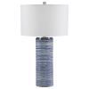 This item: Montauk Polished Nickel One-Light Table Lamp with Round Drum Hardback Shade