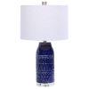 This item: Reverie Deep Blue Glaze One-Light Table Lamp