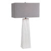 This item: Sycamore White One-Light Table Lamp