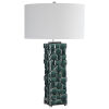 This item: Geometry Green One-Light Table Lamp
