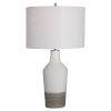 This item: Dakota Antique Brushed Brass One-Light Crackle Table Lamp