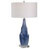 This item: Everard Indigo Blue One-Light Table Lamp