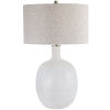 This item: Whiteout Mottled White Table Lamp