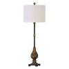 This item: Alatna Bronze One-Light Buffet Lamp, Set of 2