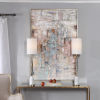 This item: Morning Sunrise Multicolor Hand Painted Canvas