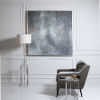 This item: Evening Sky Silver Hand Painted Art