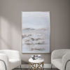This item: Open Plain Silver Abstract Art