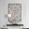 This item: Organized Chaos Dark Gray Hand Painted Canvas