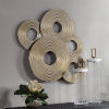 This item: Ahmet Gold Ring Wall Decor