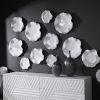 This item: Abella White Ceramic Wall Decor, Set of 3