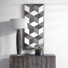 This item: Ambie Solid Fir Wood Mirrored Wall Decor