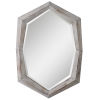 This item: Turano Ivory and Gray Mirror
