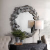 This item: Zandra Green and Gray Round Mirror