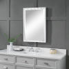 This item: Barnaby Silver and White Vanity Mirror