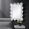 This item: Sea Matte White Coral Coastal Mirror