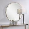 This item: Aneta Aged Gold  Round Mirror