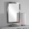 This item: Haskill Brushed Nickel Mirror