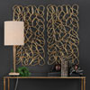 This item: In the Loop Gold Wall Art, Set of Two
