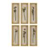 This item: Rosalie Long Stem Shadow Box, Set of Six