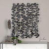This item: Skipping Stones Forged Iron Wall Art