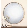 This item: Junius Round Gold Round Mirror